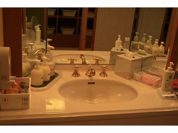 2階展望風呂 化粧台